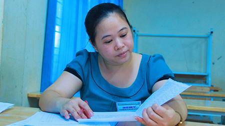 Phú Thọ có 6 bài thi THPT quốc gia thay đổi điểm sau chấm phúc khảo