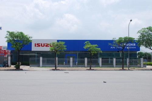 An Phú Thành phân phối xe thương mại Isuzu