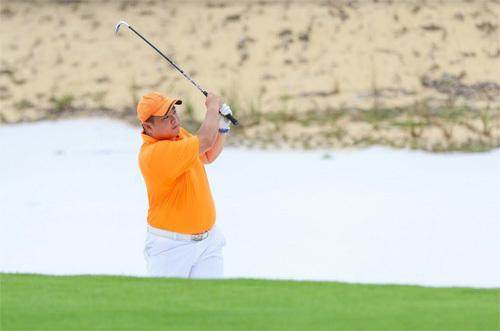 Hồng Sơn so gậy Minh Khang ở Vinpearl Golf Nam Hội An