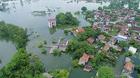 Lụt lịch sử ở Chương Mỹ: Hố sụt làm nghiêng nhà, ngàn hộ bị cắt điện
