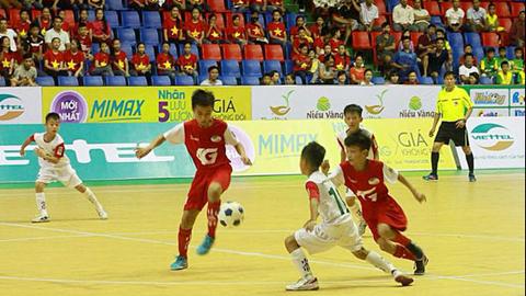 SLNA và Hưng Yên tranh ngôi vô địch U11 toàn quốc