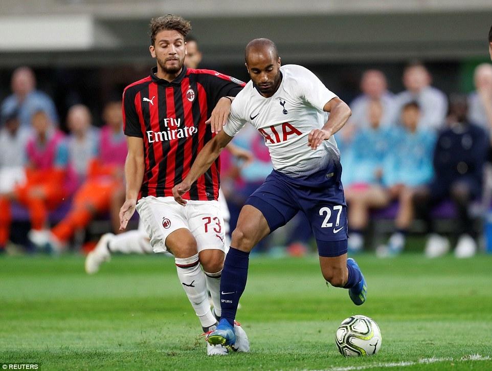 Tottenham thắng sát nút AC Milan ở ICC 2018