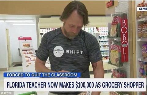 Thầy giáo bỏ nghề, kiếm 200 triệu/tháng nhờ đi chợ thuê