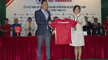 Yanmar - nhà tài trợ chính đội tuyển Việt Nam
