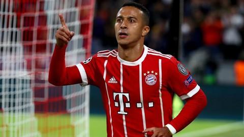 Top 5 bàn thắng của Thiago Alcantara ở Bundesliga