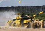 Xem lính tăng Việt Nam thi đấu tại Nga