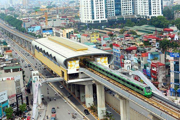 đường sắt trên cao,Cát Linh - Hà Đông,Đường sắt đô thị
