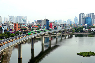 Cat Linh-Ha Dong urban railway to be handed over in late March