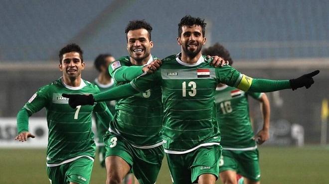Olympic Iraq rút lui, Asiad không bốc thăm lại