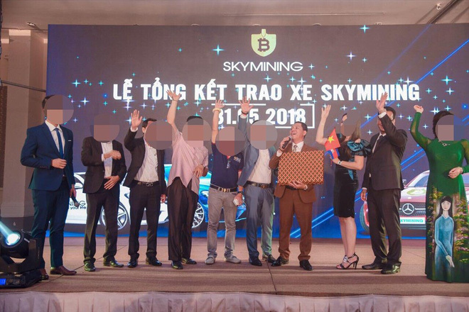 Sky Mining,lừa đảo,Lê Minh Tâm,tiền ảo