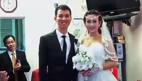 đám cưới Huyền bayby