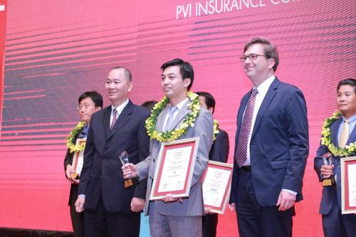 Bảo hiểm PVI, 2 năm Top 10 Bảo hiểm uy tín