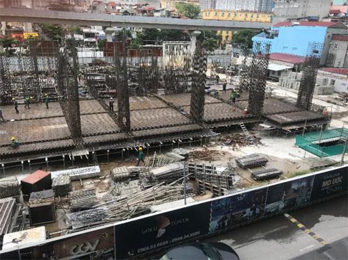 Dự án Gold Tower vượt tiến độ thi công 30 ngày