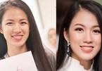 Mặt mộc bất ngờ của MC VTV thi Hoa hậu Việt Nam