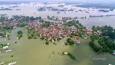 Ngập lụt ở Chương Mỹ: Chủ tịch huyện bác tin 3 người tử vong do lũ cuốn