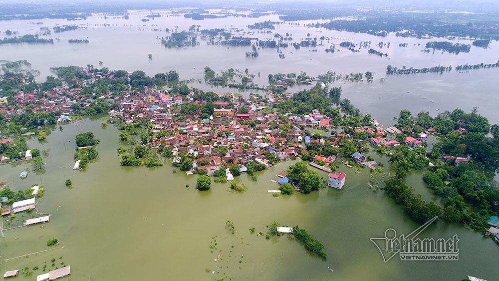 Ngập lụt ở Hà Nội,Chương Mỹ,Hà Nội,ngập lụt ở Chương Mỹ,đuối nước