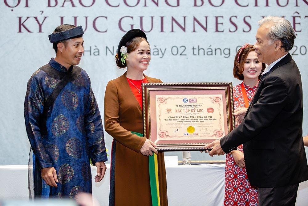 Tranh cãi bản quyền, 'Tinh hoa Bắc bộ' vẫn nhận 2 kỷ lục Guinness Việt Nam