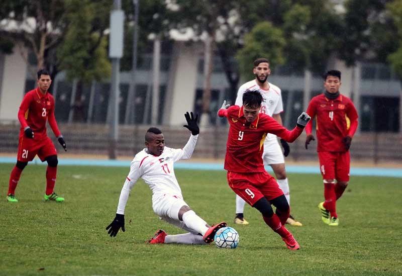 U23 Việt Nam vs U23 Palestine