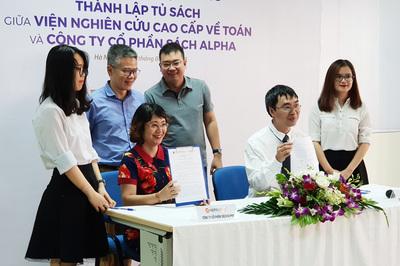 Giáo sư Ngô Bảo Châu ra mắt tủ sách về toán học