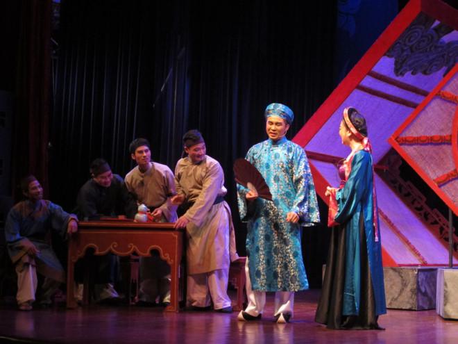 Vai 'nặng ký' Ngô Thì Nhậm của nghệ sĩ trẻ Trần Đáng