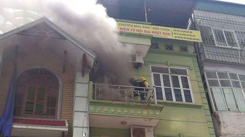 Cháy ở Vạn Phúc, Hà Đông