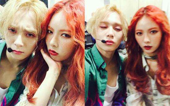 HyunA hẹn họ đàn em cùng nhóm đã 2 năm