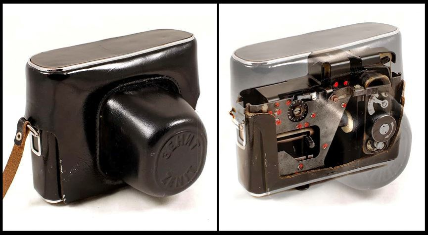 Bí ẩn bộ máy ảnh ngụy trang của điệp viên Nga