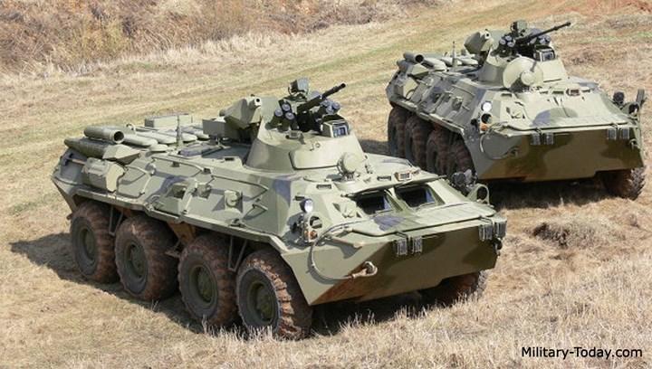 Khám phá uy lực xe bọc thép chở quân BTR-82A của Nga
