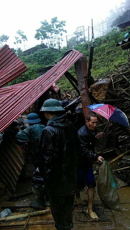 sạt lở,lũ quét,mưa lớn,Lai Châu
