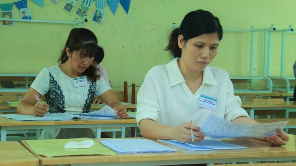 điểm thi THPT quốc gia của Nghệ An,điểm thi THPT quốc gia,thi THPT quốc gia 2018,điểm thi THPT quốc gia 2018