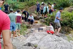 Chụp ảnh dã ngoại ven suối, 2 phụ nữ trượt chân chết đuối