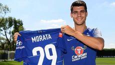 Morata bất ngờ bỏ áo số 9, Chelsea ngập tràn tin vui