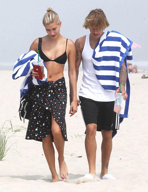 Gu thời trang đồng điệu của Justin Bieber và vợ chưa cưới