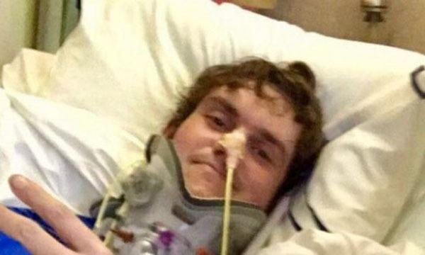 Chàng trai sống sót thần kỳ sau khi bị 'rụng đầu' vì tai nạn