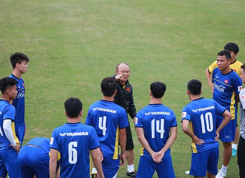U23 tập luyện chuẩn bị gặp Oman