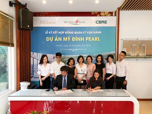 SSG 'bắt tay' CBRE VN vận hành Mỹ Đình Pearl