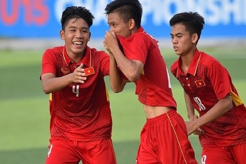 Video U16 Việt Nam 6-1 U16 Philippines