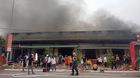 Cháy 5 quán karaoke ở Quảng Ninh, khách đang hát nháo nhào chạy