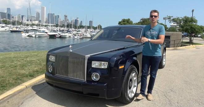Mua Rolls-Royce Phantom cũ giá rẻ giật mình