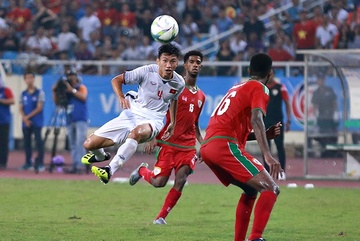 Chiêm ngưỡng tuyệt phẩm của Văn Hậu vào lưới U23 Oman