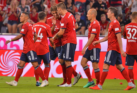Video Bayern Munich 1-0 MU