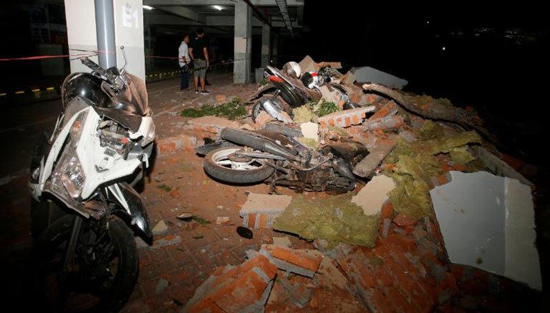 Hình ảnh tang thương sau động đất ở Indonesia