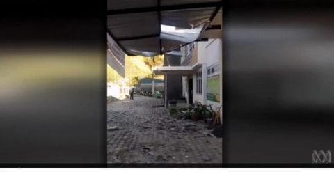 Hình ảnh trận động đất giết hơn 80 người ở Indonesia