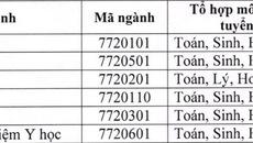 Điểm chuẩn chính thức của ĐH Thái Nguyên