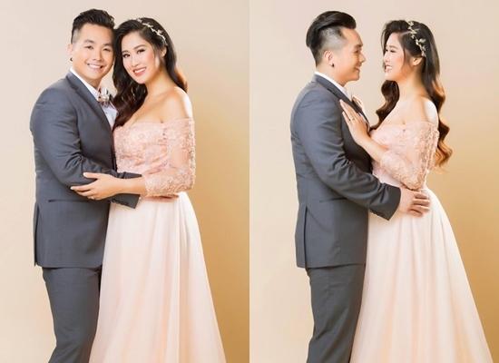 Ảnh cưới chưa từng công bố của con gái Hồng Vân và chồng Việt kiều