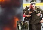 Khoảnh khắc máy bay mưu sát Tổng thống Venezuela nổ tung