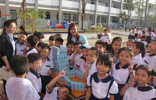 Khởi động chương trình GD dinh dưỡng-Phát triển thể lực trẻ em