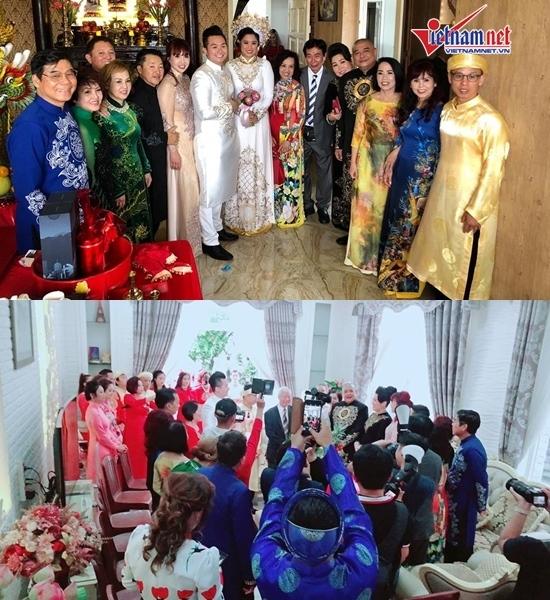 NSND Hồng Vân khóc trong đám cưới của con gái và con rể Việt Kiều