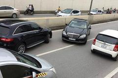 Xác định chủ xe Mercedes 'ngũ quý 7' đi ngược chiều trong hầm Kim Liên