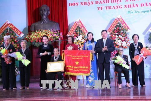 Chủ tịch QH Nguyễn Thị Kim Ngân,Nguyễn Thị Kim Ngân,đội quân tóc dài,Bến Tre